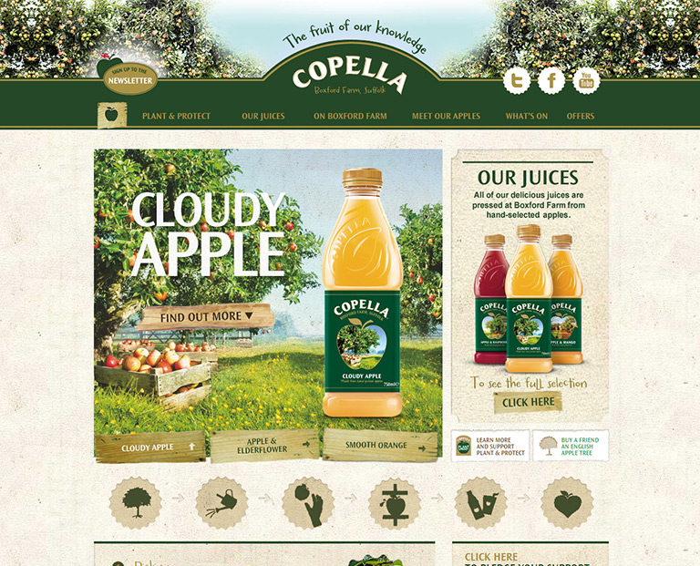 Copella Fruit Juices - FMCG - STANDOUT