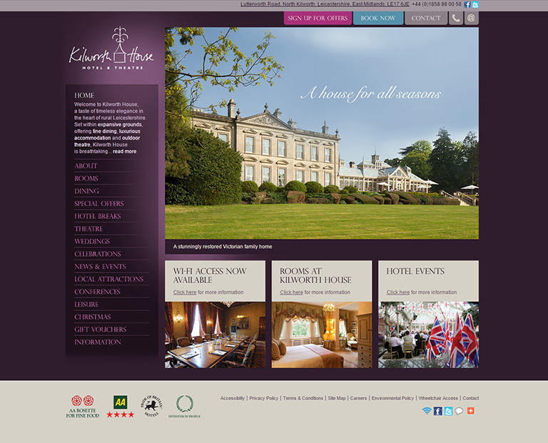 Kilworth House Hotel & Theatre - Hotels & Hospitality - STANDOUT