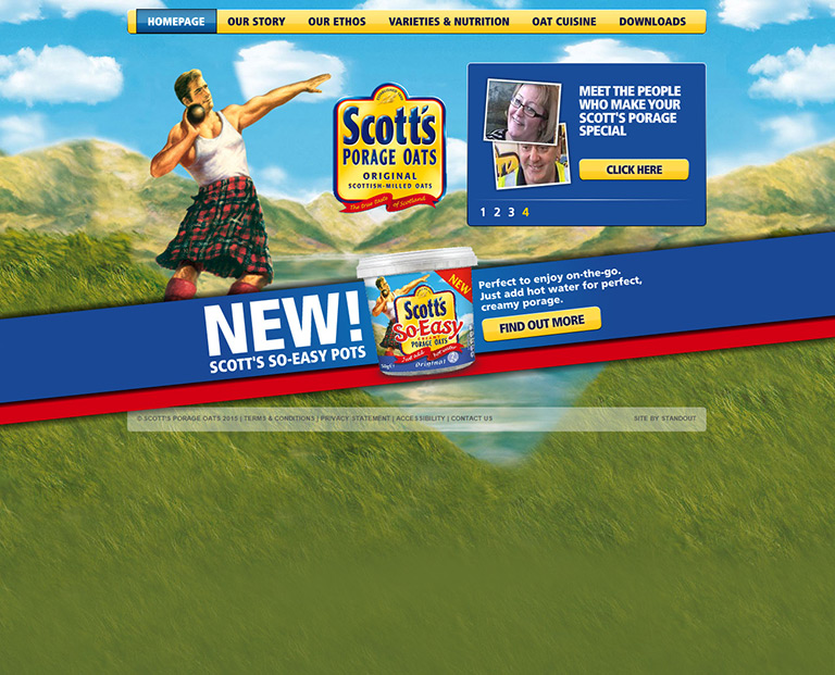 Scotts Porage - FMCG - STANDOUT