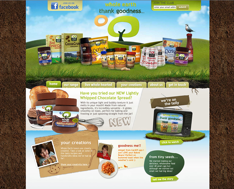 Whole Earth - FMCG - STANDOUT